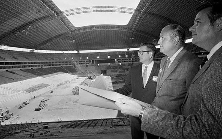 Le Texas Stadium et le concept aréna